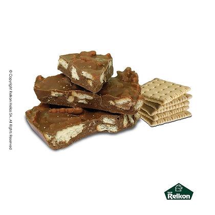 Blocks Σοκολάτας Γάλακτος με μπισκότα