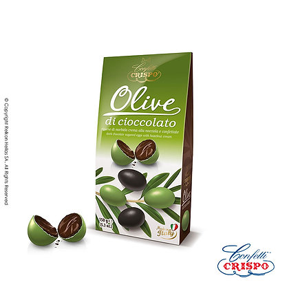 Crispo Olive Κουφέτο 150g