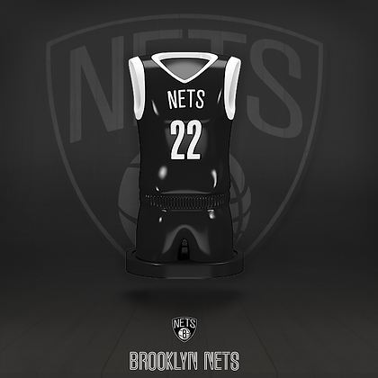 Brooklyn Nets 3D figure – Official NBA Collection