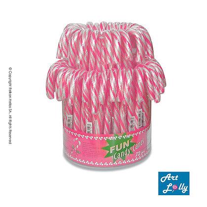 Μπαστουνάκια Λευκό - Ροζ 14g