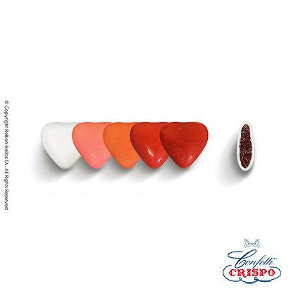Mini Choco Καρδιές Selection Red