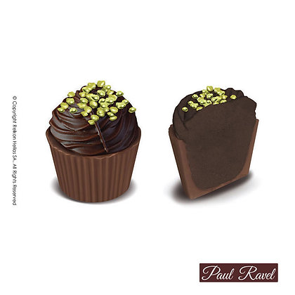 Paul Ravel Cupcake Bitter Nero