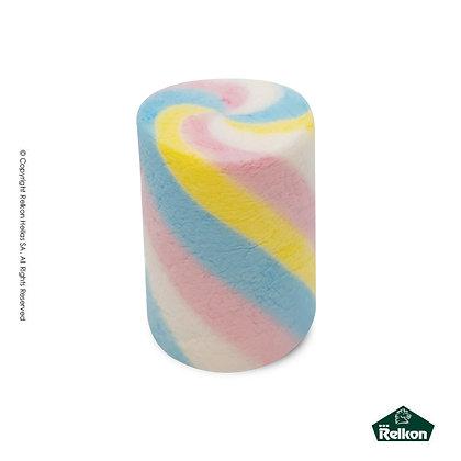 Marshmallow Rainbow Twirly