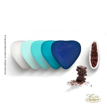 Mini Choco Καρδιές Blue Selection