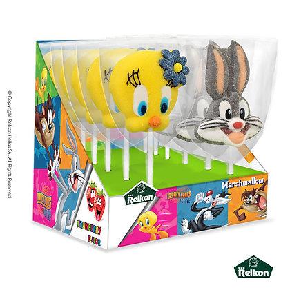 Looney Tunes Marshmallow Lollipop 45g