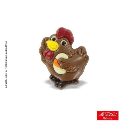 Martinez Hen with Egg