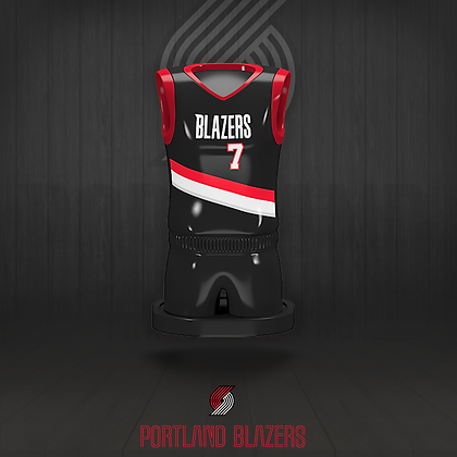 Portland Blazers 3D figure – Official NBA Collection