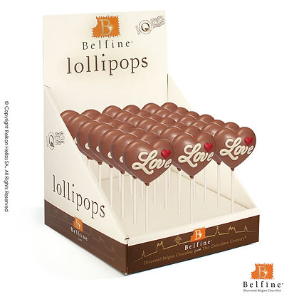 Choco Lolly Καρδιά