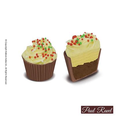 Paul Ravel Cupcake Πραλίνα Φουντουκιού