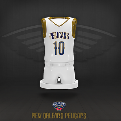 New Orleans Pelicans 3D figure – Official NBA Collection