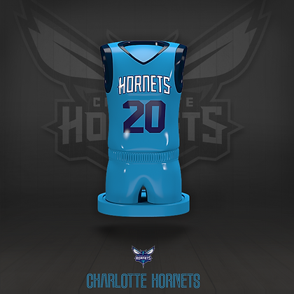 Charlotte Hornets 3D figure – Official NBA Collection
