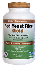 Red Yeast Rice Gold made with organic