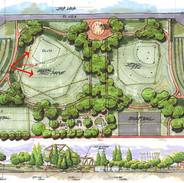 Crescent Club Apartments: Reich Landscape Architecture, Baton Rouge