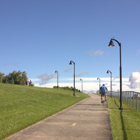 LEVEE BIKE PATH