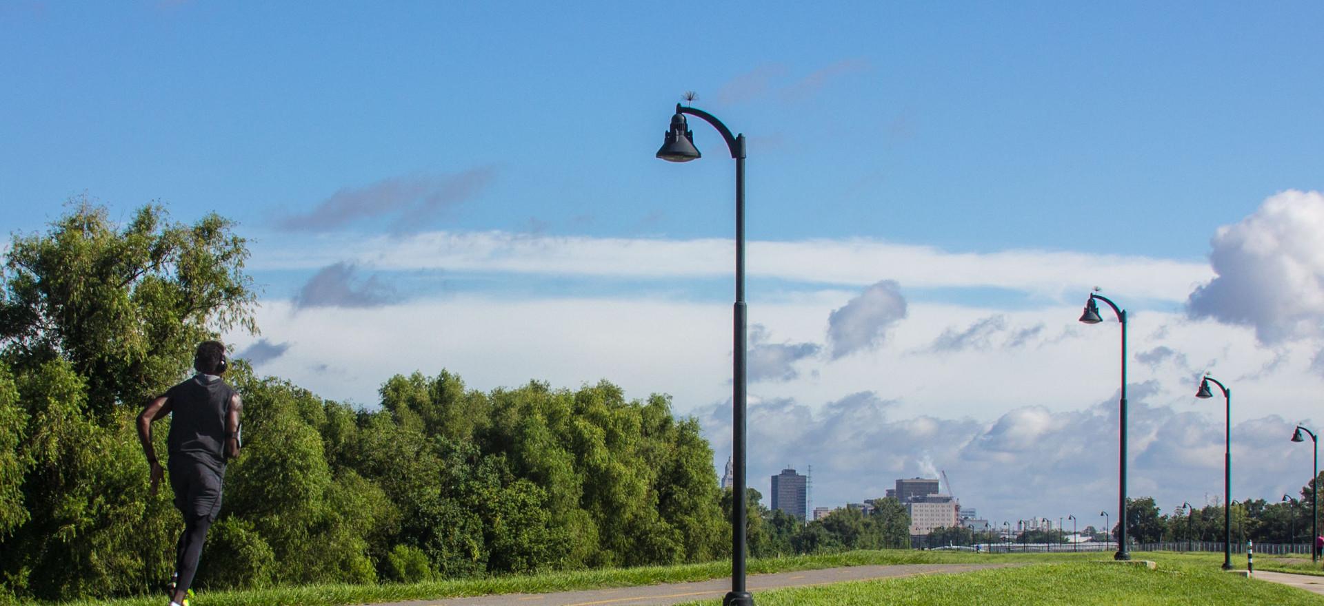 Baton Rouge Levee Bike Path
