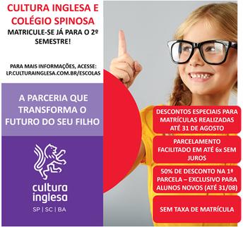 Cultura Inglesa e Colégio Spinosa