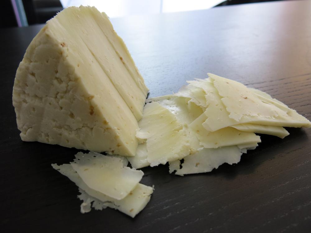 Aged Goat Cheese w/ Roasted Garlic