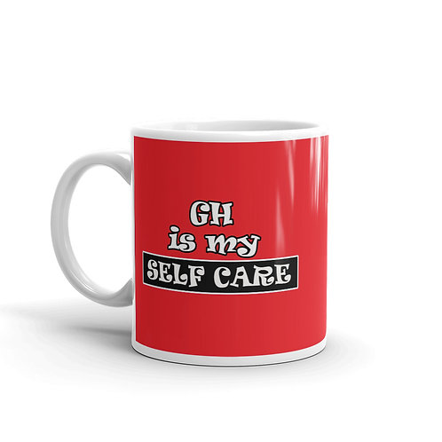GH Is My Self Care Mug - Red