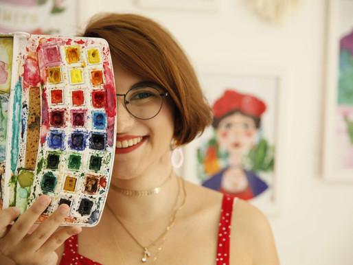 Natalia Pezzin - arrancando sorrisos com arte