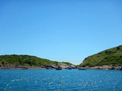 O arquipélago de Três Ilhas