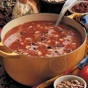 Vegetarian Five Bean Soup