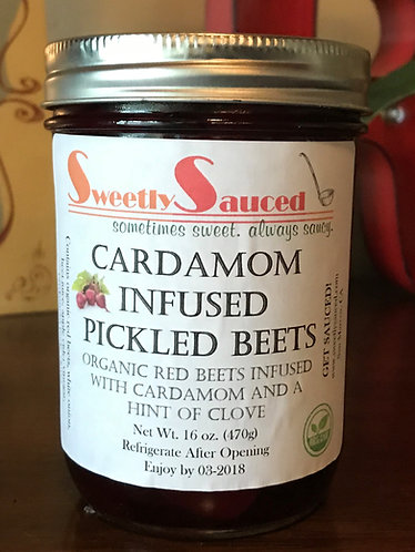 Cardamom Infused Pickled Beets