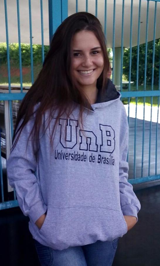 Moletom universitário UnB