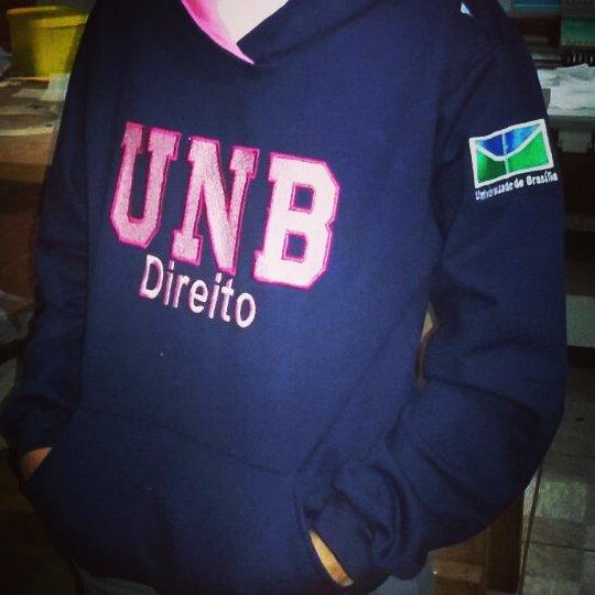 Moletom Universitário Direito UnB