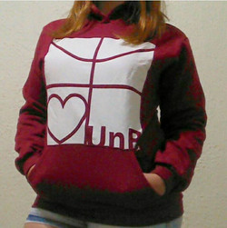 Moletom Universitário Love UnB