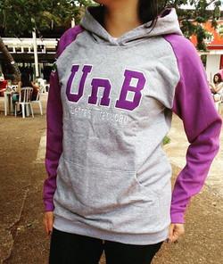 Moletom Universitário UnB Letras