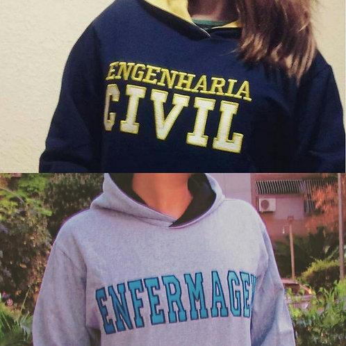 Moletom Universitário Canguru Personalizado