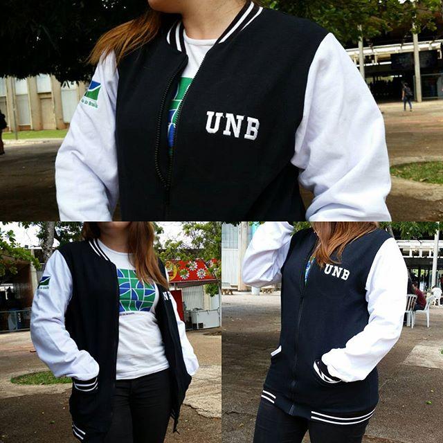 Jaqueta college UnB