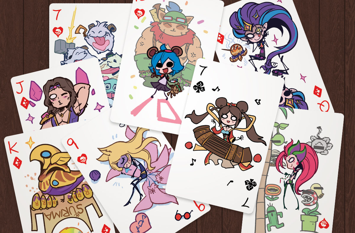 GALLERY - CUTIE PIE PLAYING CARDS