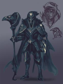 Noss, The Crow Knight