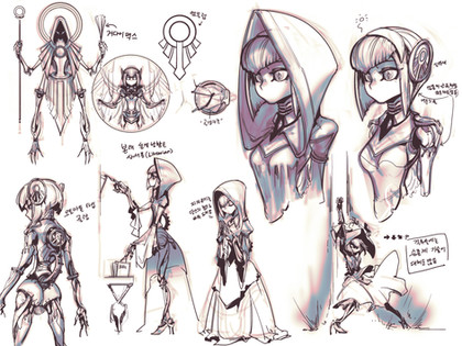 Sketch for Colosa