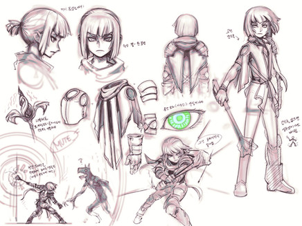 Sketch for Reigan