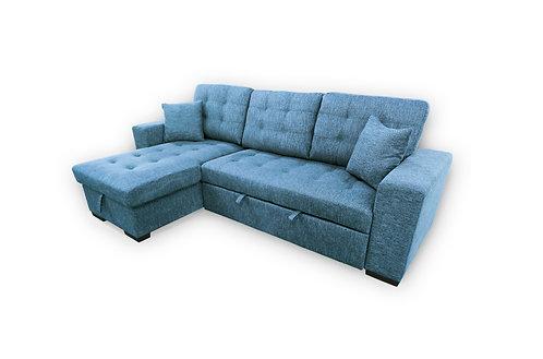 Rolin Functional Fabric Corner Sofa
