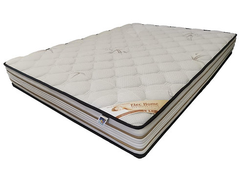 1711 Queen/King Breathable Bamboo Fabric Firm Pocket Spring Mattress