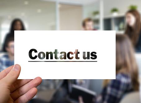 联系我们网页应该怎样写 ?