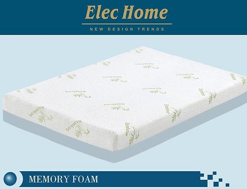 F005 Double/Queen/King Luxurious Bamboo Fabric Gel Memory Foam Mattress