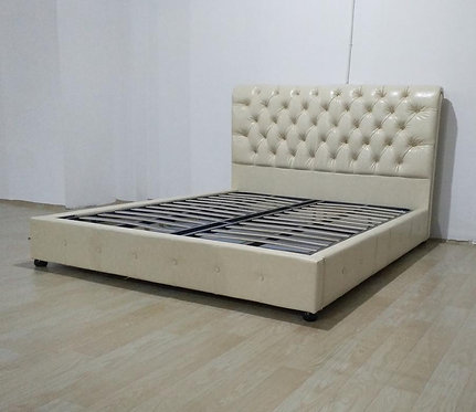 TA80 Luxury Design /Metal Framed-Slats High Quality/PU Leather Bed