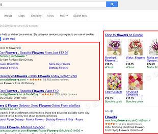 Google广告的位置