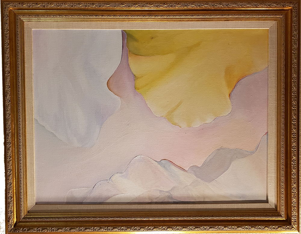 """Holy"" by Leiah Bowden, 1972, acrylic on canvas"