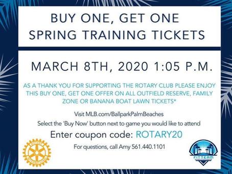 Rotary Day at the Ballpark!