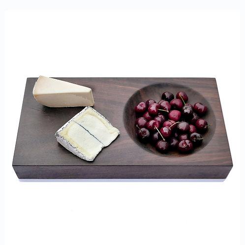 Walnut Bowl and Serving Cutting Board