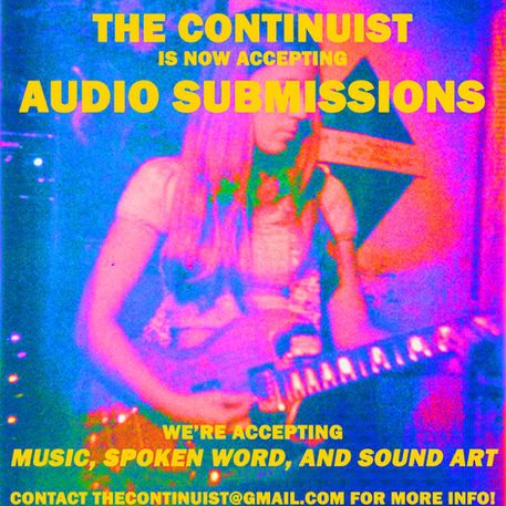 We're accepting audio submissions!