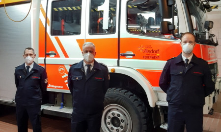 Alsdorf fire brigade gets started with three-member board of directors and new press spokesperson