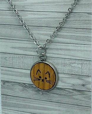 Oak Cat Necklace