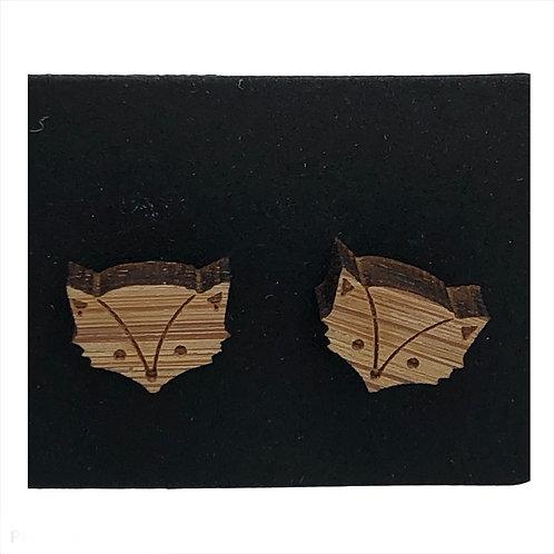 Honey Badger Earrings