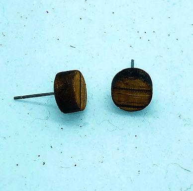 Zebra Wood Studs 10mm